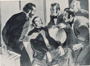 Первая демонстрация наркоза